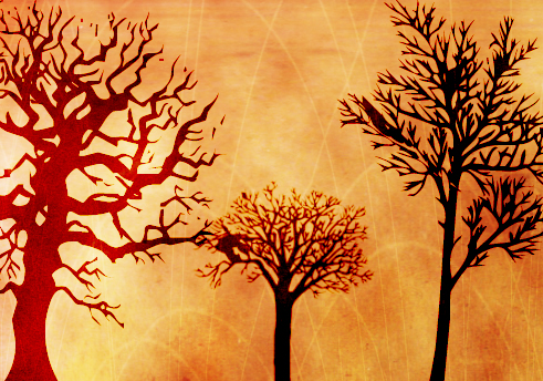Tree Brushes by ki-cek