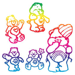 Care Bears Brushes