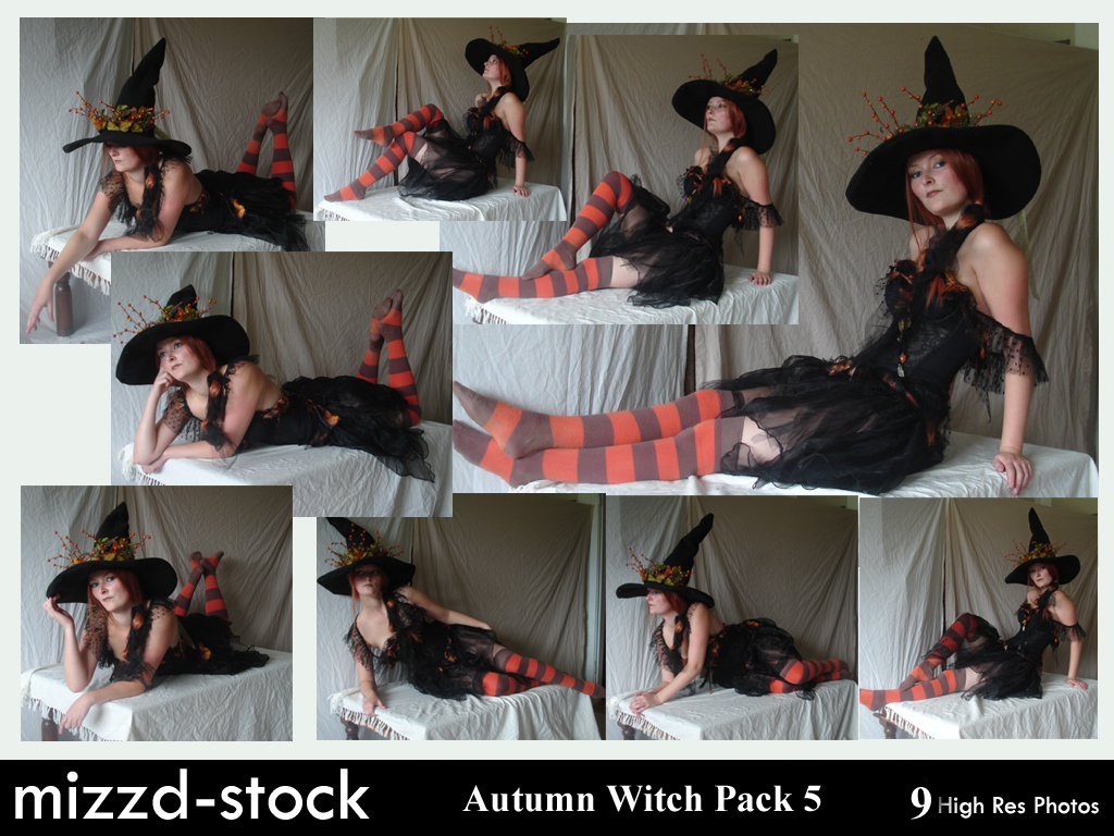 Autumn Witch Pack 5