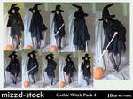 Gothic Witch Pack 4