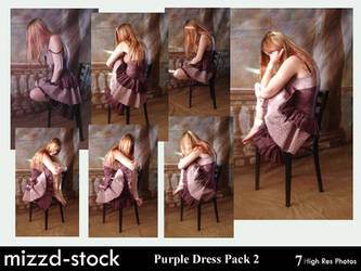 Purple Dress Pack 2 by mizzd-stock