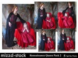Rennaissance Queen Pack 2 by mizzd-stock