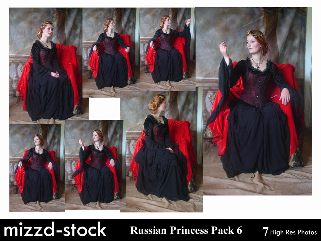 Rennaissance Queen Pack 6 by mizzd-stock