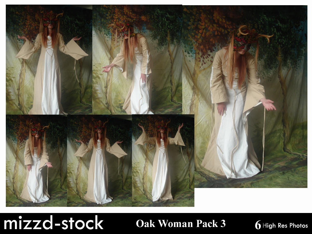 Oak Woman Pack 3 by mizzd-stock