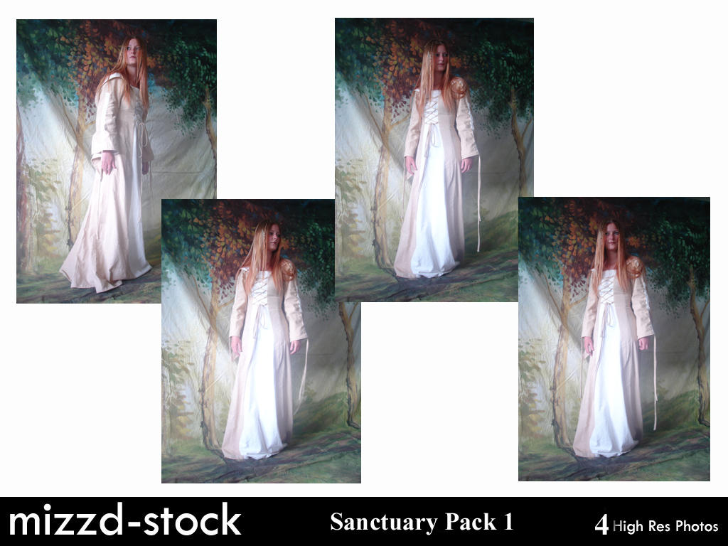 Sanctuary Pack 1 by mizzd-stock