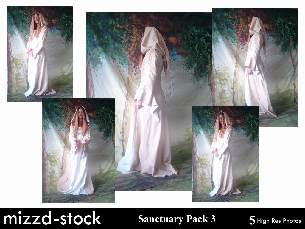 Sanctuary Pack 3 by mizzd-stock