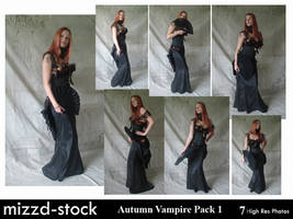 Autumn Vampire Pack 1 by mizzd-stock