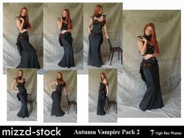 Autumn Vampire Pack 2 by mizzd-stock
