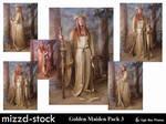 Golden Maiden Pack 3