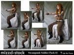 Steampunk Soldier Pack 11