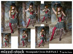 Steampunk Circus Doll Pack 2