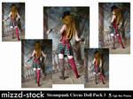 Steampunk Circus Doll Pack 3