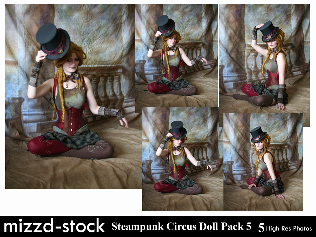 Steampunk Circus Doll Pack 5