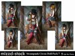 Steampunk Circus Doll Pack 7