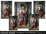 Steampunk Circus Doll Pack 8