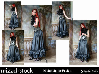 Melancholia Pack 4 by mizzd-stock