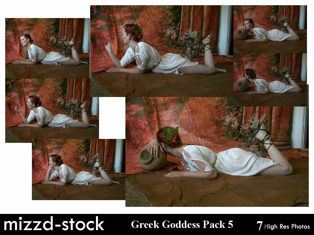 Greek Goddess Pack 5 by mizzd-stock
