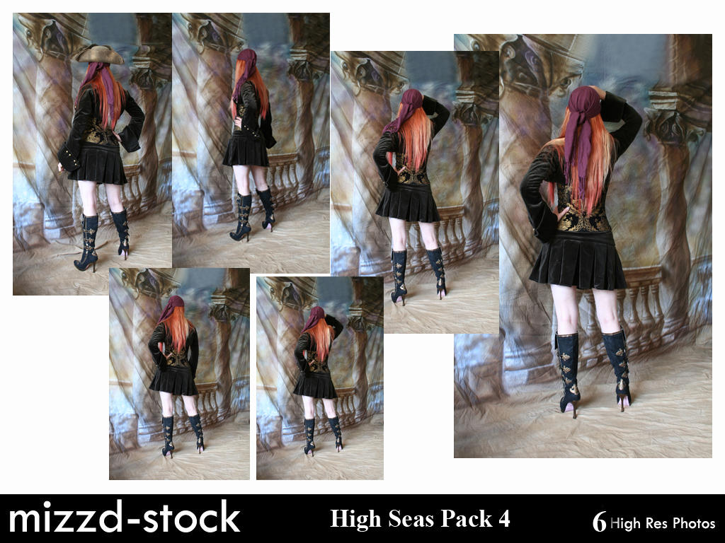 High Seas Pack 4 by mizzd-stock