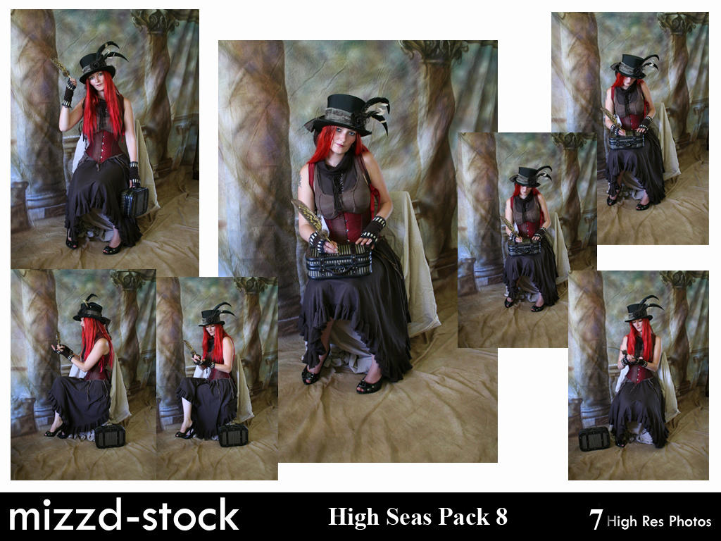 Steam Traveller Pack 8 by mizzd-stock