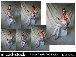 Circus Candy Doll Pack 4 by mizzd-stock