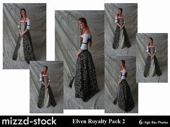 Elven Royalty Pack 2 by mizzd-stock