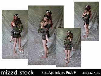 Post Apocalypse Pack 9 by mizzd-stock