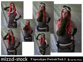 Post Apocalypse Portrait Pack2 by mizzd-stock
