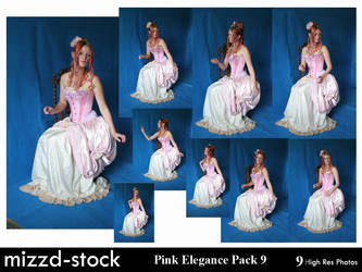 Pink Elegance Pack 9 by mizzd-stock