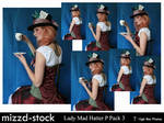 Lady Mad Hatter Portrait Pack3