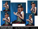 Lady Mad Hatter Portrait Pack4
