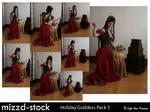 Holiday Goddess Pack 3
