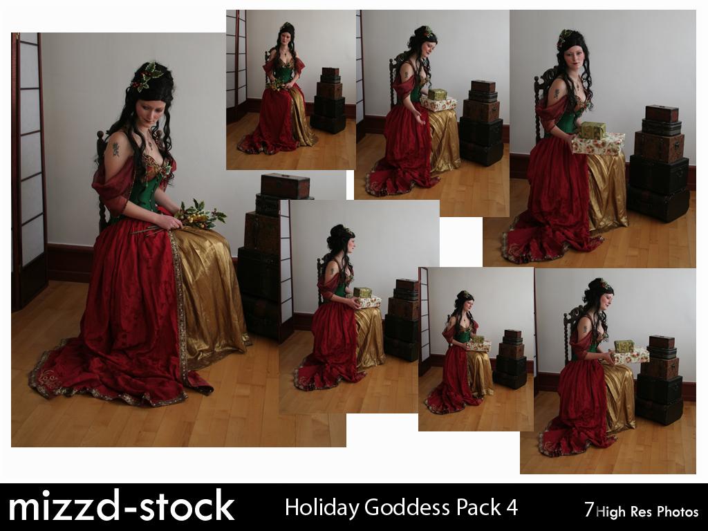 Holiday Goddess Pack 4