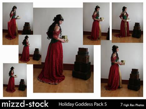 Holiday Goddess Pack 5