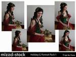 Holiday Goddess Portrait Pack1