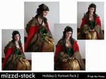 Holiday Goddess Portrait Pack2