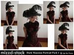 Dark Mansion Portrait Pack 1