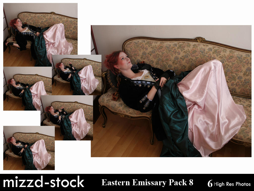 Eastern Emissary Pack 8 by mizzd-stock