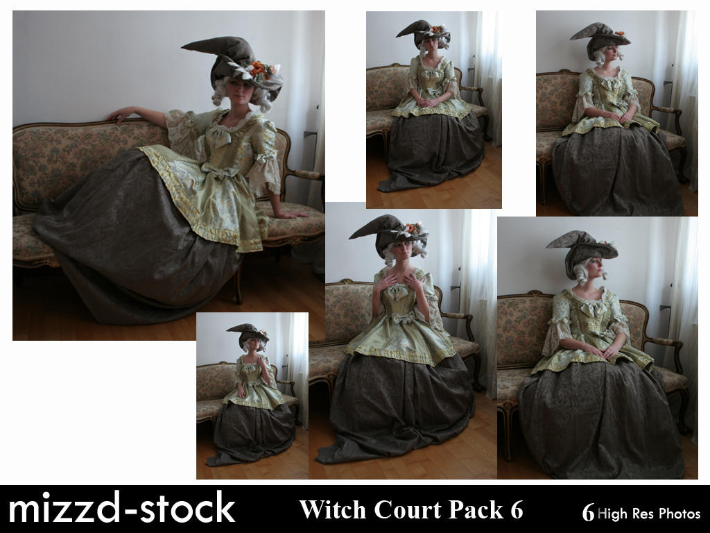 Witch Court Pack 6 by mizzd-stock