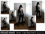 Pirates - Captain Ebony Black Pack 5