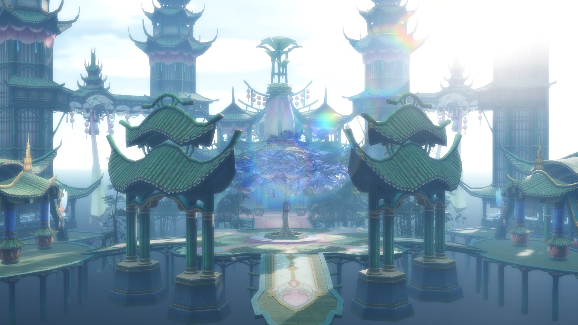 MMD Game China Stage: Bamboo House- DL By Daucongluyen On