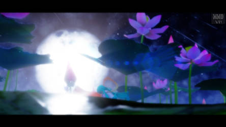 [MMD-DL] Lotus Stage