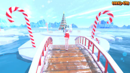 [MMD-STAGE] The North Pole (DL)