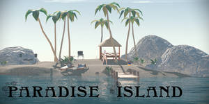 Paradise Island - MMD Stage