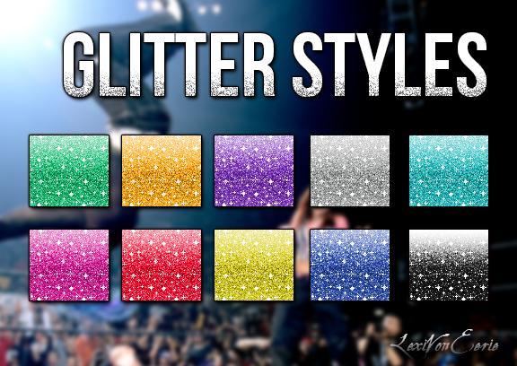 Glitter Styles by LexiVonEerie