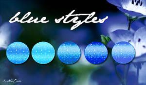 Blue Styles by LexiVonEerie