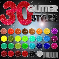 3O Glitter Styles by LexiVonEerie