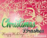 Christmas Brushes O1