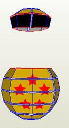 dragon ball box 1-7 Star and Black