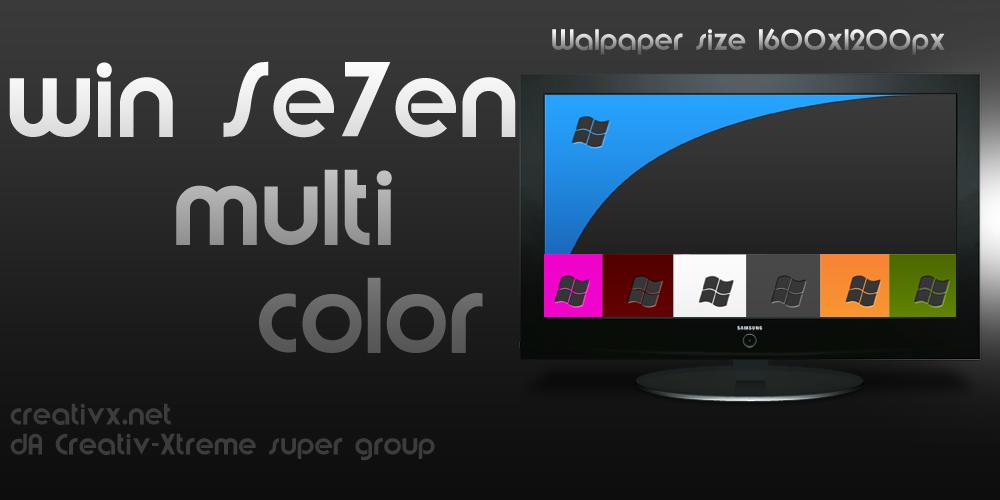 Win Se7en multi-color by iBFAM