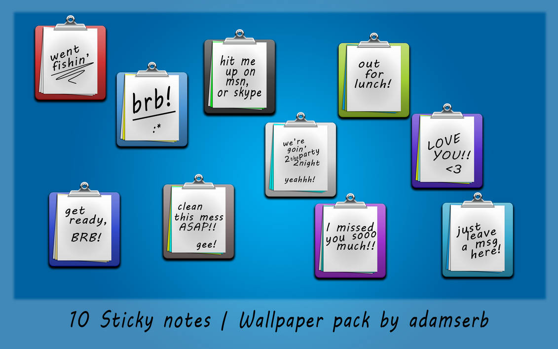 Sticky Notes by iBFAM ...
